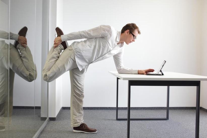 Γιά Να Μήν Χάνεις Την Φόρμα Σου Στο Γραφείο
