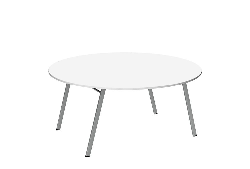 Τραπέζι Εστίασης Dromeas Σειράς Xenia Πτυσσόμενο Ροτόντα Διαμέτρου 160