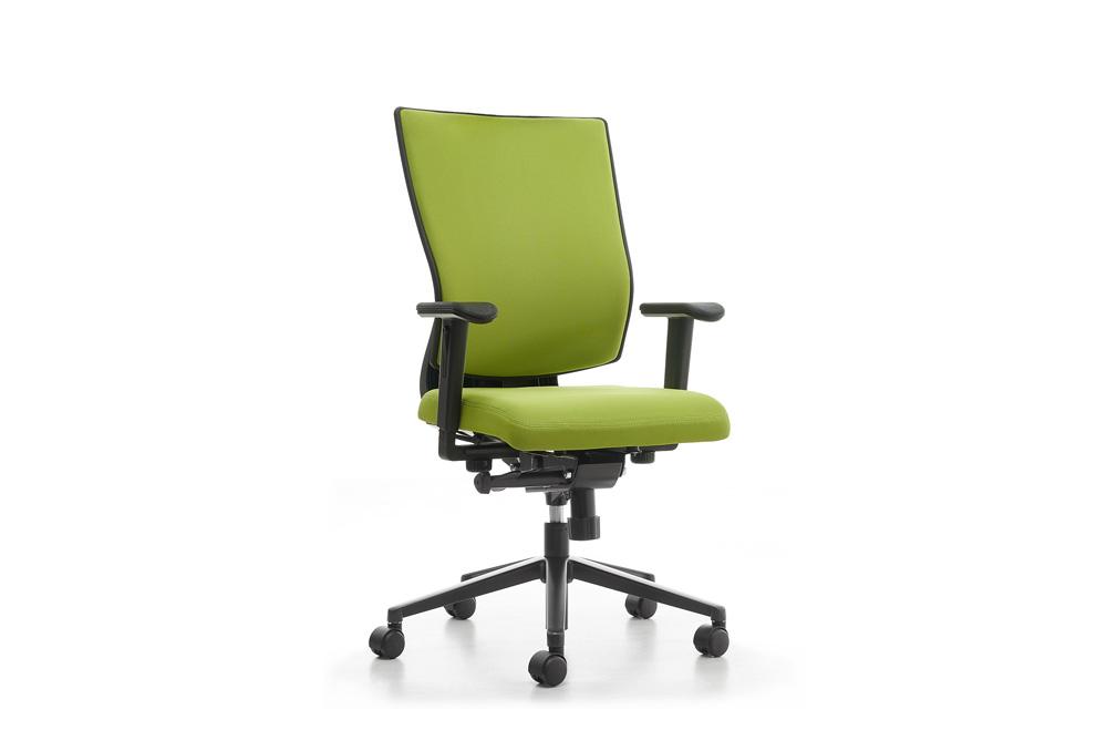 Κάθισμα Εργασίας Dromeas Reflex  Ύφασμα κατ1  Πεντάνευρο Βαμμένο Ανθρακί