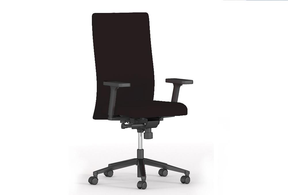 Διευθυντικό Κάθισμα Dromeas Smart D Ύφασμα Μαύρο Πεντάνευρο Ανθρακί